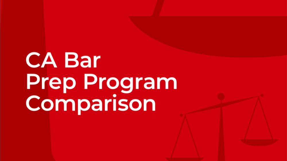 California Bar Prep Course Comparison