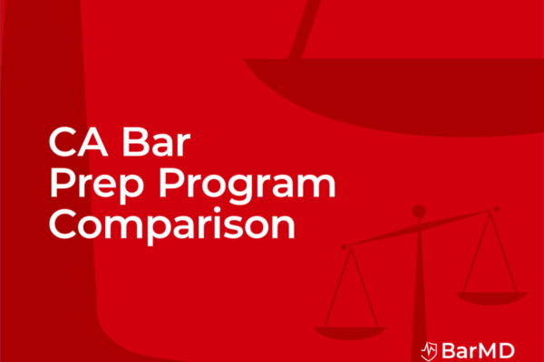 California Bar Prep Course Comparison