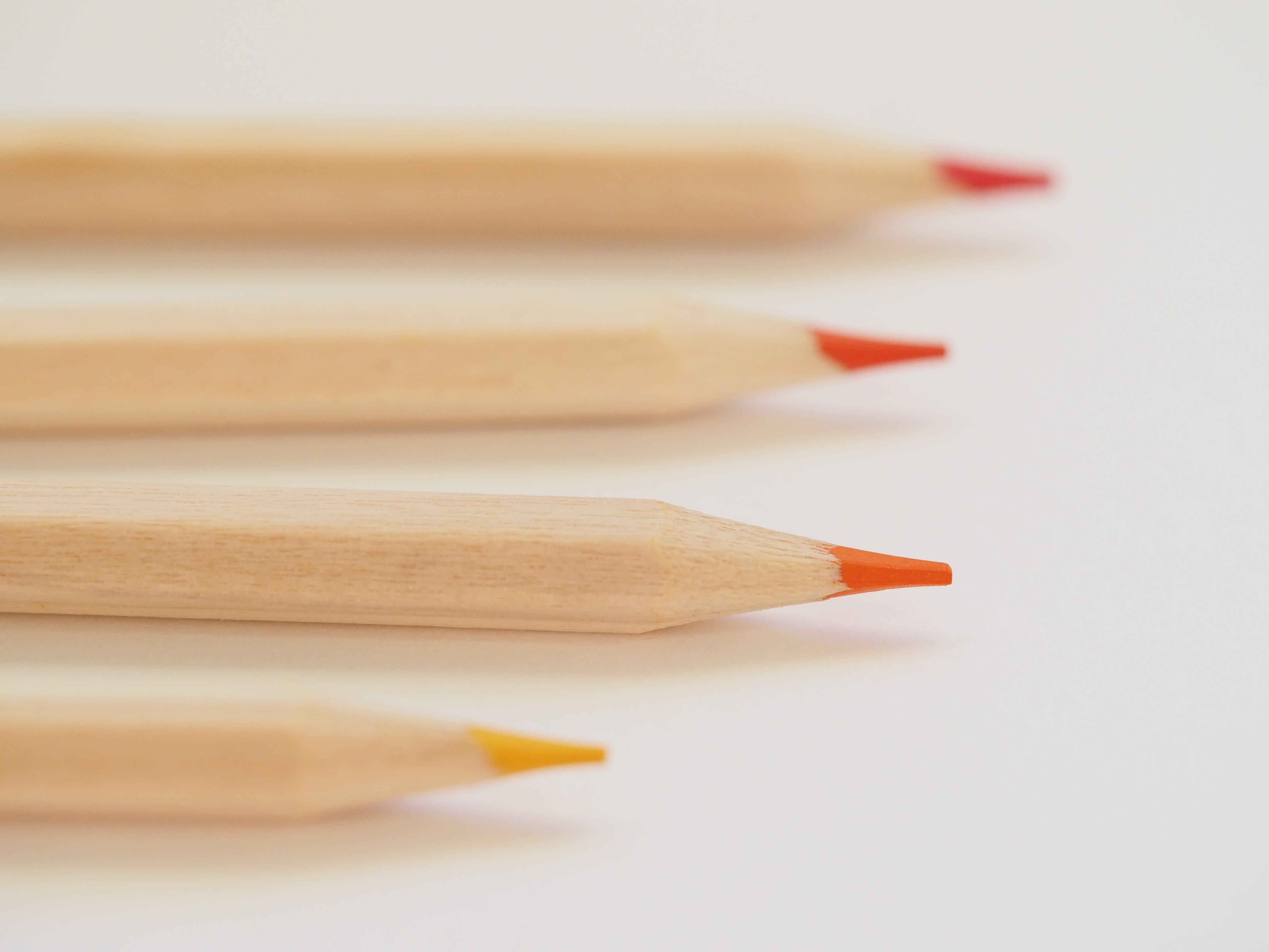 colored pencils for mock-grading bar essays