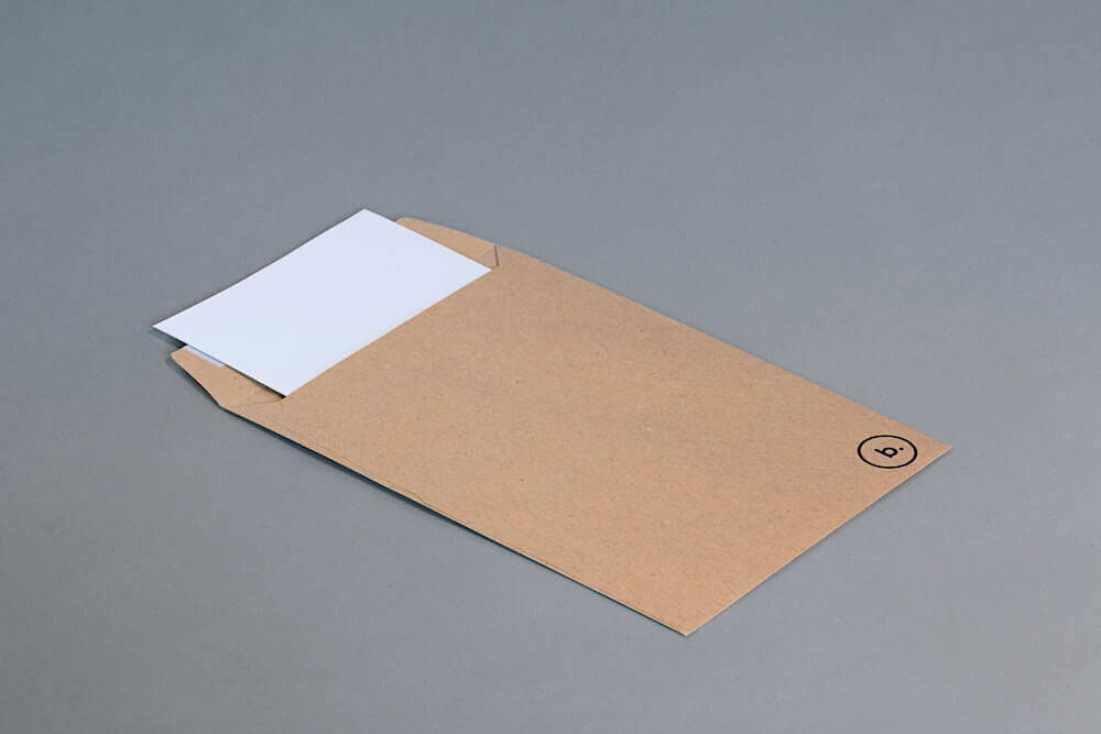 Legal envelope with document